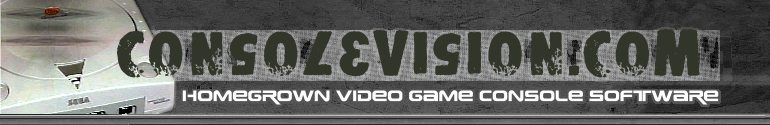 Consolevision :: Homegrown Video Game Console Software